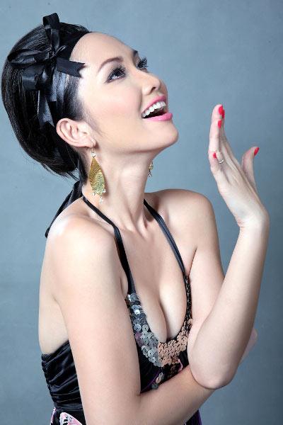 3 kiểu tóc mùa đi tiệc của diễn viên Kim Hiền! - 5