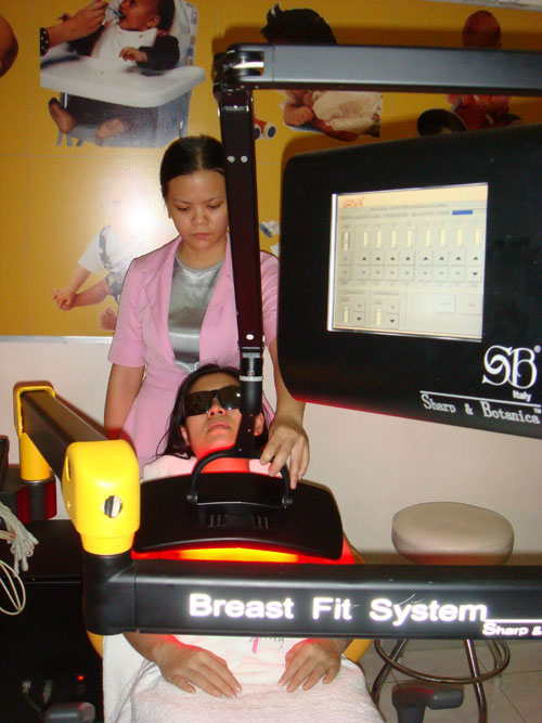 Phục hồi ngực sau khi sinh - 2