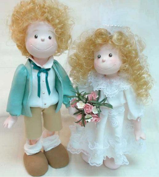 Độc đáo với cô dâu... búp bê! - 13