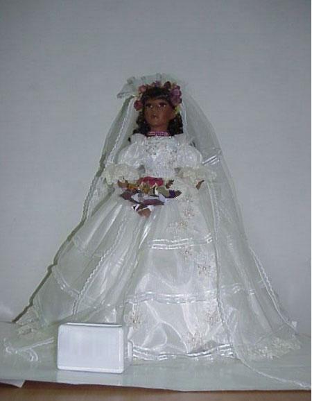 Độc đáo với cô dâu... búp bê! - 8
