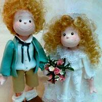 Độc đáo với cô dâu... búp bê!