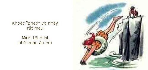Tranh vui: Thổ dân tắm biển - 4