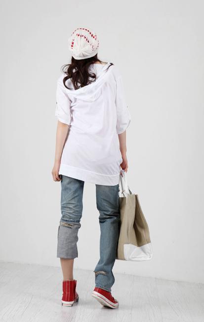 Tiết Thu: Jeans rách gối thịnh hành! - 13