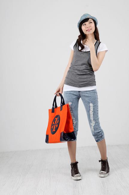 Tiết Thu: Jeans rách gối thịnh hành! - 18