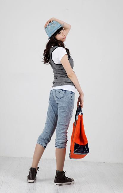 Tiết Thu: Jeans rách gối thịnh hành! - 16