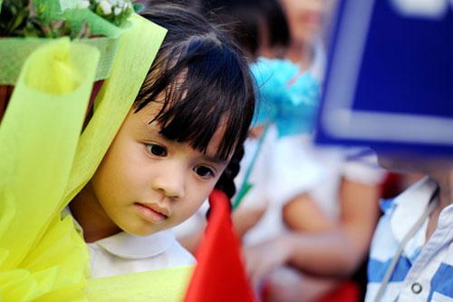 Hình ảnh hồn nhiên của các bé ngày khai trường - 10