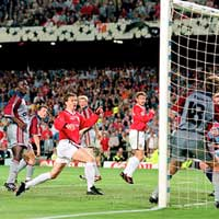 Bayern Munich - MU (CK Champions League 1999)