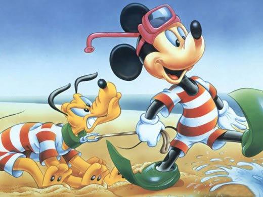Video: Những khoảnh khắc vàng của chuột Mickey - 9