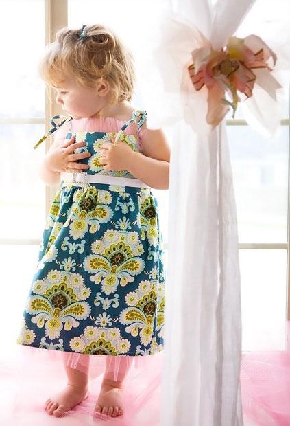 Clip: May váy xinh cho bé gái - 7