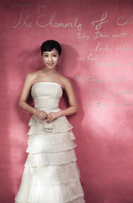 Quyến rũ hơn nhờ váy cưới Hàn Quốc - 6