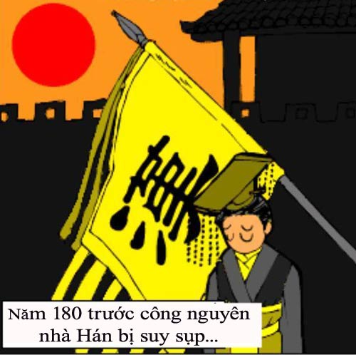 1256629973 3 Tam Quốc... hài (1): Chiến loạn Hán triều
