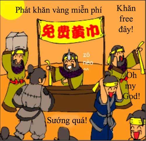 1256630485 10 Tam Quốc... hài (1): Chiến loạn Hán triều