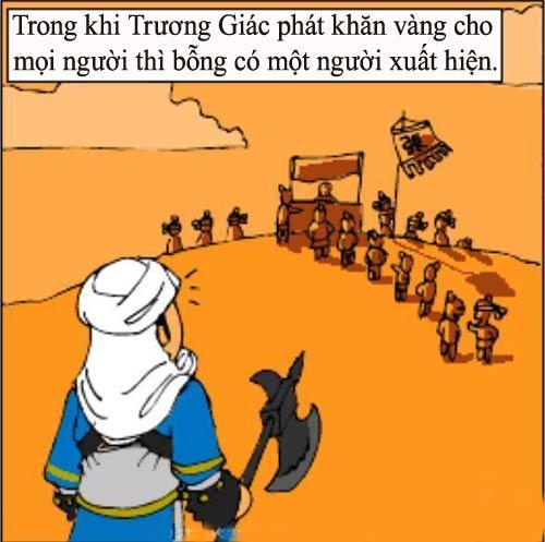 1256630485 11 Tam Quốc... hài (1): Chiến loạn Hán triều