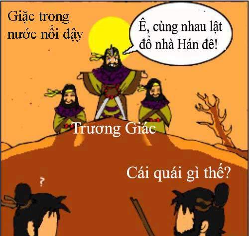 1256634646 8 Tam Quốc... hài (1): Chiến loạn Hán triều
