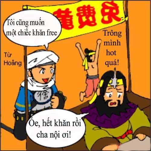 1256783441 12 Tam Quốc... hài (1): Chiến loạn Hán triều