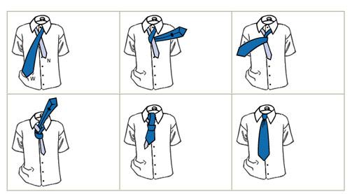 Những cách thắt cà vạt thông dụng - 1