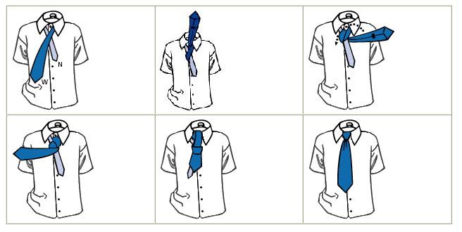 Những cách thắt cà vạt thông dụng - 2