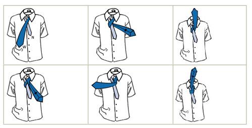 Những cách thắt cà vạt thông dụng - 3