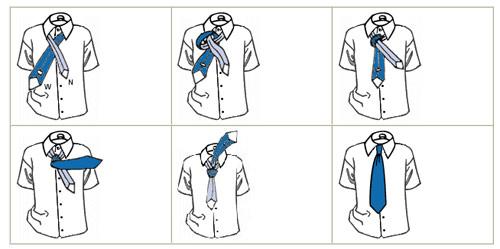 Những cách thắt cà vạt thông dụng - 4