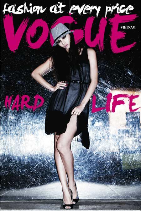 Siêu mẫu Bảo Hòa xuất hiện trên Elle Mỹ - 2