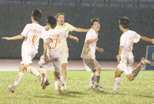 Vòng loại bảng E, Giải bóng đá U19 châu Á 2010: ĐT U19 Việt Nam xếp thứ 3, nhưng chưa hết hy vọng - 2