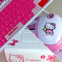 Ngộ nghĩnh máy tính Hello Kitty