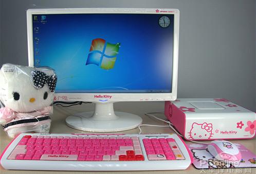 Ngộ nghĩnh máy tính Hello Kitty - 2