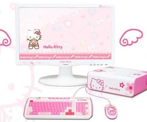 Ngộ nghĩnh máy tính Hello Kitty - 11
