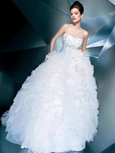 Những lớp váy cưới mộng mơ - 3