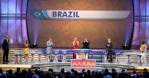 Kết quả bốc thăm vòng bảng World Cup 2010: Ronaldo đụng Kaka - 2