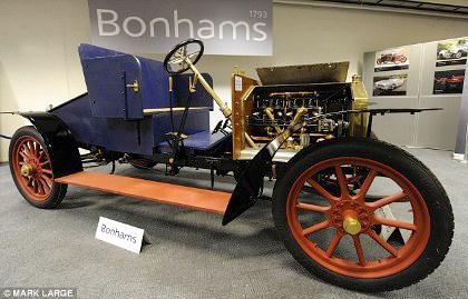 Bán đấu giá xe Rolls-Royce hơn 100 năm tuổi - 3