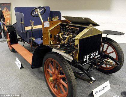 Bán đấu giá xe Rolls-Royce hơn 100 năm tuổi - 4
