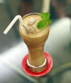 Cafe bạc hà