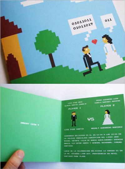 Các kiểu thiệp mời cưới 'siêu độc' - 1
