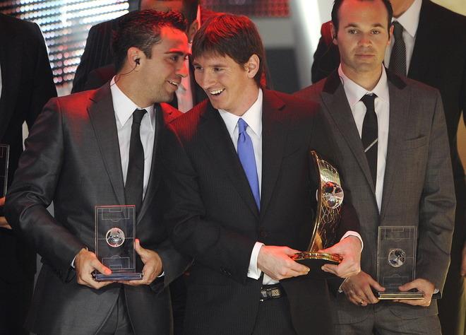 Lễ trao giải của FIFA: Messi lập cú đúp (kèm video và ảnh) - 2