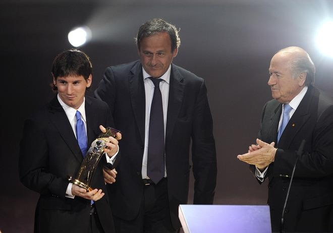 Lễ trao giải của FIFA: Messi lập cú đúp (kèm video và ảnh) - 5