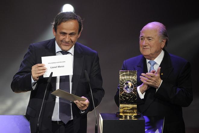Lễ trao giải của FIFA: Messi lập cú đúp (kèm video và ảnh) - 3