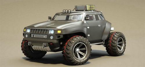 Hummer HB – Xe cho người mê off-road - 1