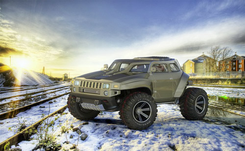 Hummer HB – Xe cho người mê off-road - 14