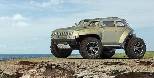 Hummer HB – Xe cho người mê off-road - 9