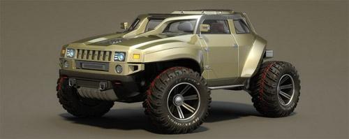 Hummer HB – Xe cho người mê off-road - 2