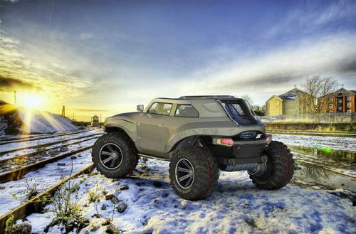 Hummer HB – Xe cho người mê off-road - 15