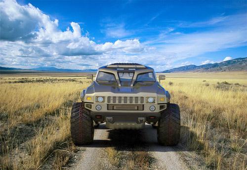 Hummer HB – Xe cho người mê off-road - 16