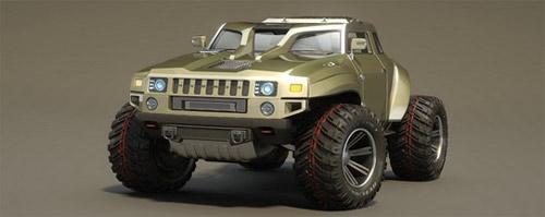 Hummer HB – Xe cho người mê off-road - 3