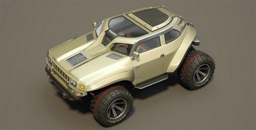 Hummer HB – Xe cho người mê off-road - 4