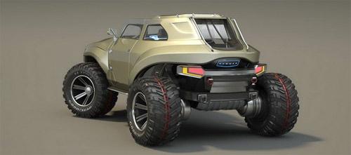 Hummer HB – Xe cho người mê off-road - 7