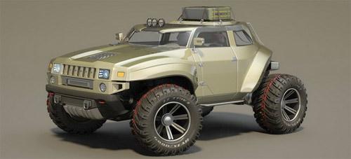 Hummer HB – Xe cho người mê off-road - 8