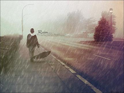 Chiều mưa - 1