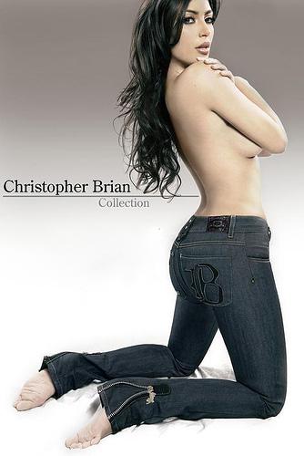 """Người đẹp """"siêu vòng 3"""" gợi cảm với jeans - 3"""