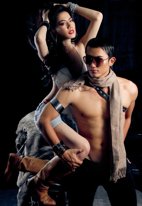 Lê Trung Cương đeo xích, cởi trần… - 14